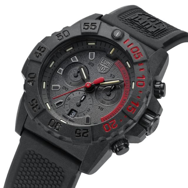 Altre immagini per Luminox Navy Seal Cronografo Limited Edition THE ONLY EASY DAY WAS...