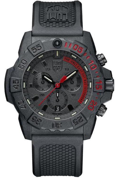 Luminox Navy Seal Cronografo Limited Edition THE ONLY EASY DAY WAS...