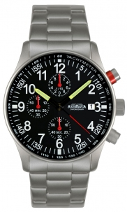 Aviator Crono 40 mm Black Type A