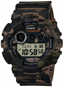 Casio G-Shock Absolute Camouflage Cod. GD-120CM-5ER