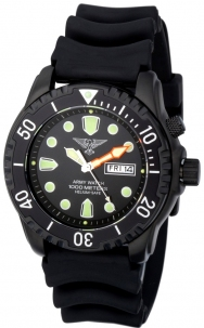 Army Watch EP848 Sub 1000 Metri Saphire Glas All Black