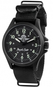 Orologio Militare Memphis Belle  Mod. Sandy Troopers Pvd Black 10 Atm