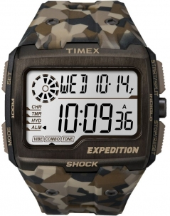 Timex Expedition Camouflage Grid Shock