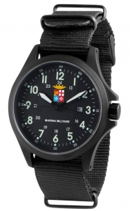 Orologio Marina Militare Mod. Sandy Troopers Pvd Black 10 Atm