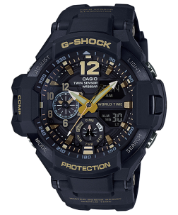 G-Shock Aviation con Bussola e Termometro mod. GA-1100GB-1AER