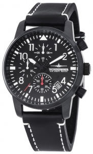 Thunderbirds Mod. Aviazione MultiPro by Aviotime Chrono Pvd Black