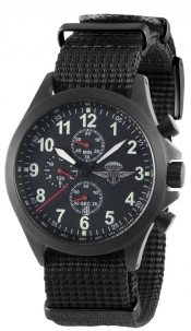 Memphis Belle Sandy Troopers Chrono Pvd Black Cint. Nato