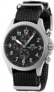 Memphis Belle Sandy Troopers Chrono Satinato Black Cint. Nato