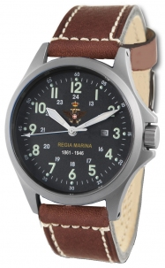 Orologio Militare Regia Marina By Memphis Belle Mod. Sandy Troopers Special Edition Quadr. Nero