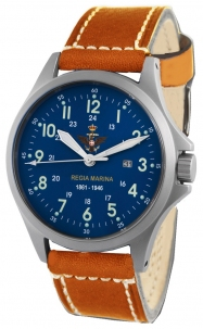 Orologio Militare Regia Marina By Memphis Belle Mod. Sandy Troopers Special Edition Quadr. Blu