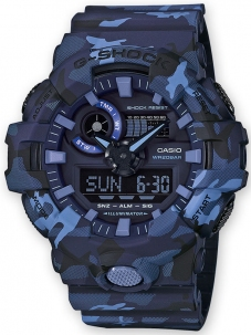 Casio G-Shock New Camouflage Blu