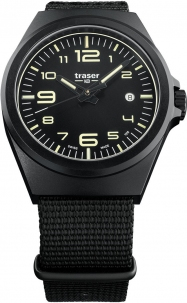 Traser P59 Essential Black Pvd Trigalight Swiss Made