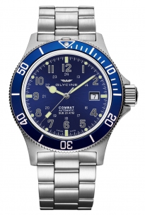 Glycine Combat Sub 42 mm Blu Automatic Swiss Made