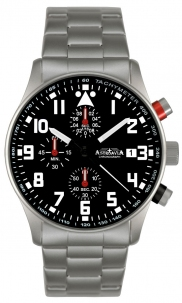 Aviator Crono 40 mm Black Type B