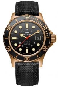 Glycine Combat Sub Bronzo Automatico Black Swiss Made