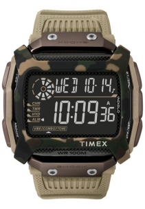 Timex Command Shock Multifunzione da 54mm Camu Marrone