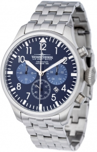 Cronografo Aviazione Thunderbirds Historage 1956 Chrono 2 Steel Quadrante Blu