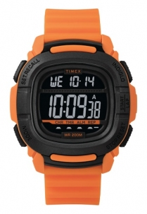 Timex Command Digitale 50 Lap Memoria Sub 200 Metri Orange