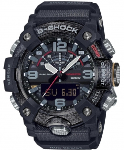 Casio G-Shock New Mudamaster in Carbonio con Triplosensore Bluetooth Smart Versione All Black